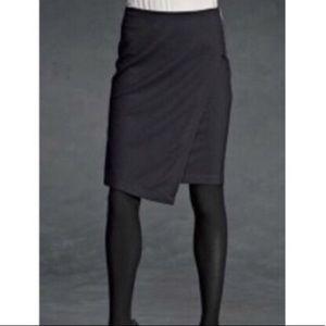 Women's CAbi Black Asymmetric Skirt Size 8 #998
